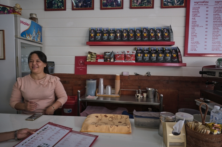Coffee at the The Golden Triangle –Thailand